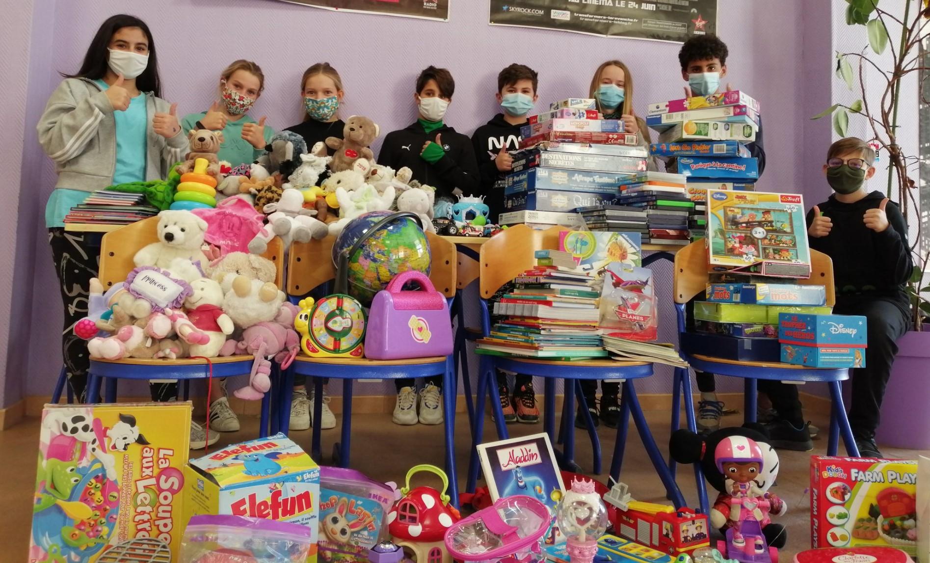 l'action caritative « un Noël pour tous »